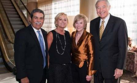 Michael and Kitty Hinojosa with Mary and Jack Lowe