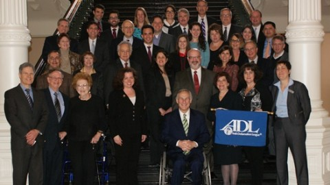 ADL Texas Leadership with Governor Abbott